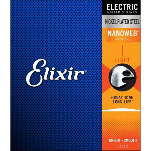 Encordoamento Elixir  Guitarra 011 - Medium   3217