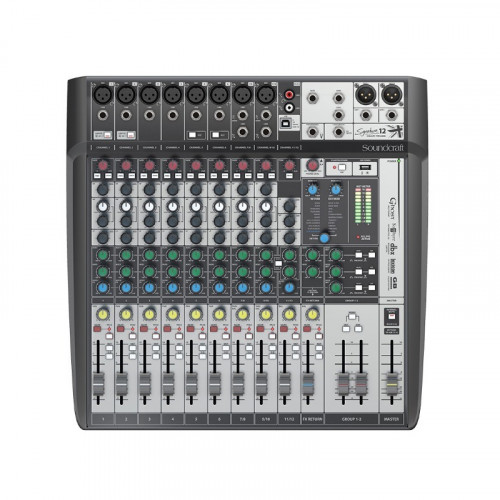 Mesa Soundcraft  Signature - 12 Mtk  Multipistas